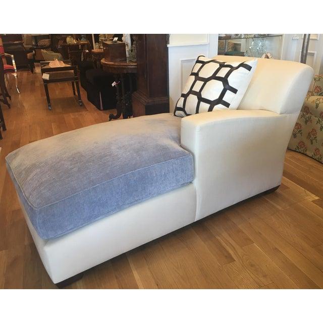 Christian Liaigne for Holly Hunt Nabob Chaise Lounge - Leonard Nemoy Estate - Image 4 of 6