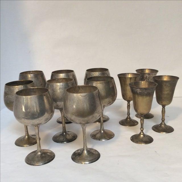 Vintage Silverplate Goblets - Set of 12 - Image 2 of 10
