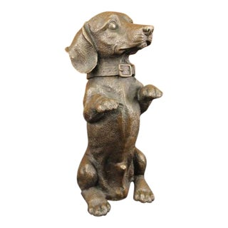 Puppy Dog Bronze Sculpture
