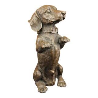 Puppy Dog Bronze Sculpture