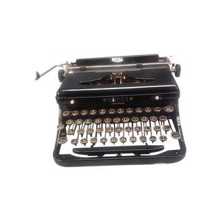 1939 Black Royal Portable Aristocrat Typewriter