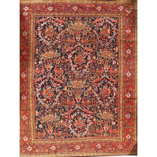 "Pasargad N Y Original Persian Sultanabad Mostofi Design Wool Rug - 10'8"" X 13'9"""