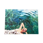 Image of Lady in Water Canvas-Wrapped Print