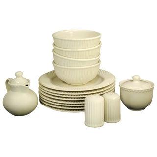 Dansk Rondure Rice White Dinnerware - S/18