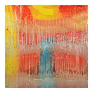 Signed Original Abstract Painting 7489
