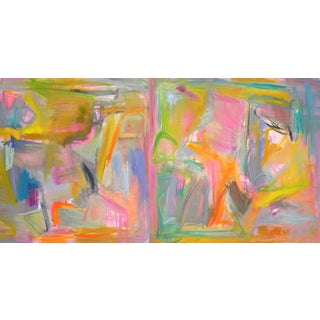 """""""Key West"""" Abstract Painting by Trixie Pitts"""