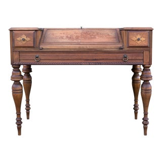 Antique Grand Rapids Secretary Desk