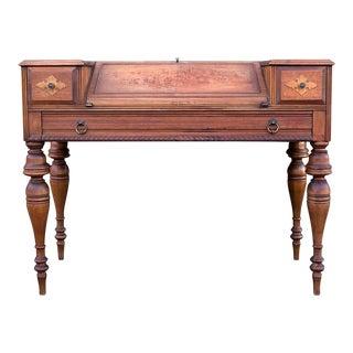 Antique Grand Rapids Secretary Desk