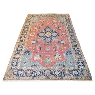 Antique Persian Tabriz Rug - 8″ × 11″