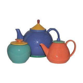 Lindt Stymeist Colorways Teapot & Jars - Set of 3