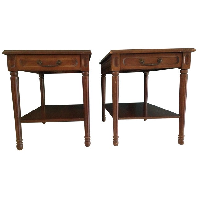 Mersman Side Tables - A Pair