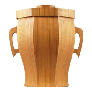 Broadway Imported Housewares Wooden Ice Bucket