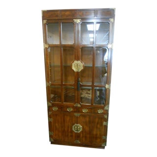 Henredon Furniture Pan Asian Display Cabinet