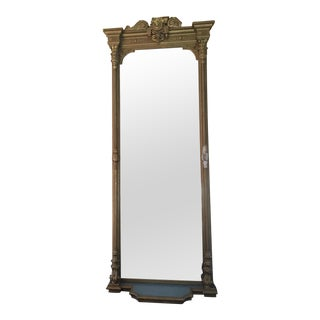 Vintage Historic Large Gilt Mirror