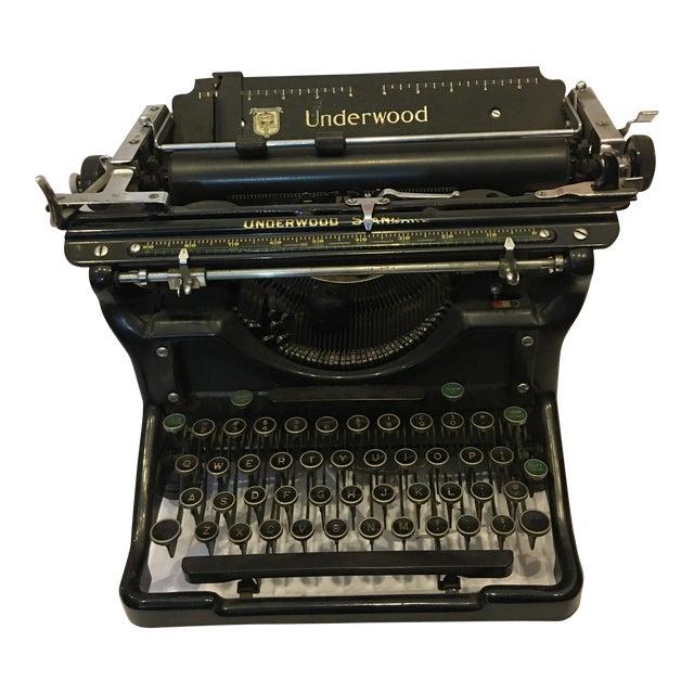 Vintage Underwood Standard Typewriter - Image 1 of 10