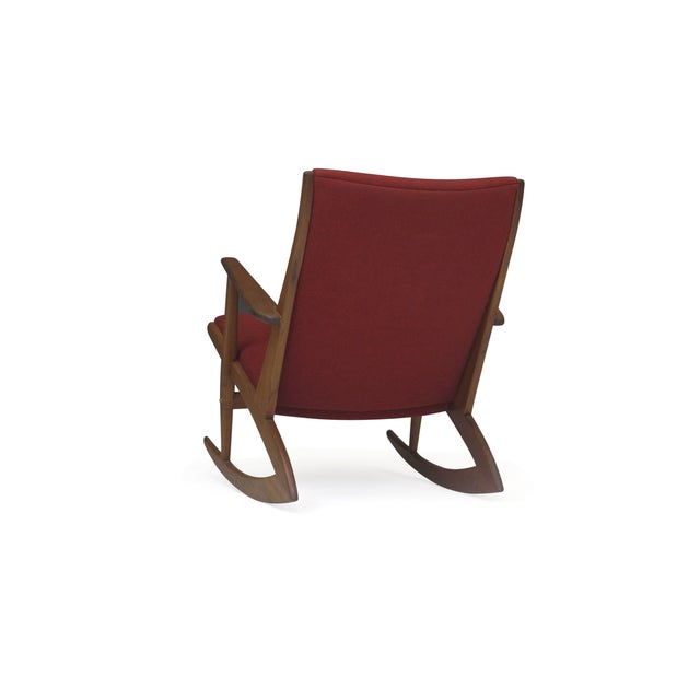 Georg Jensen Mid-Century Danish Rocking Chair - Image 5 of 9
