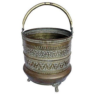 Etched Brass Bucket