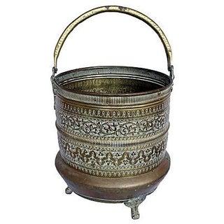 Etched Brass Bucket