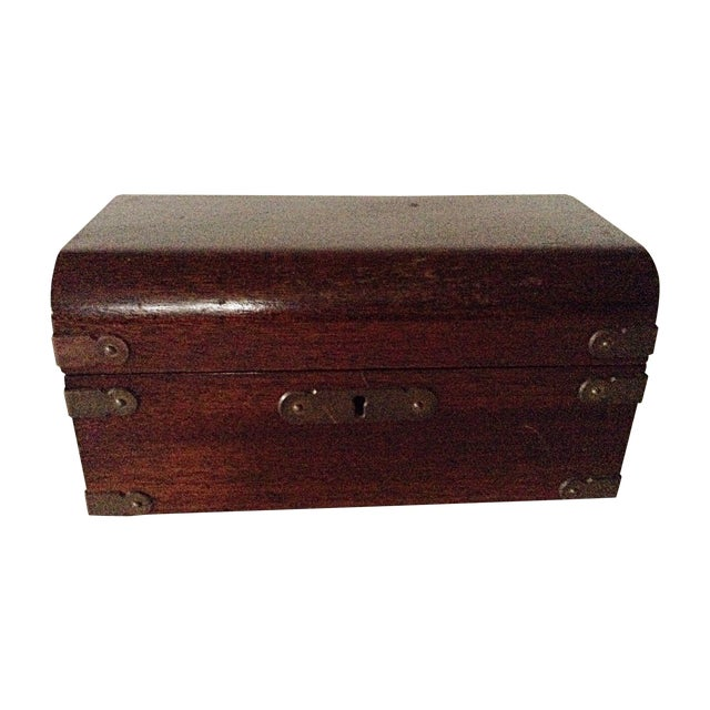 Parker Pen Company Wooden Box - Image 1 of 7