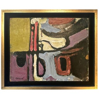 Modern Abstract Painting, Signed by Artist George Forgie