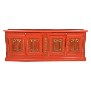 Carved Orange Server
