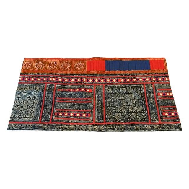 John Robshaw Vintage Batik Indigo Pillow Cover - Image 1 of 7