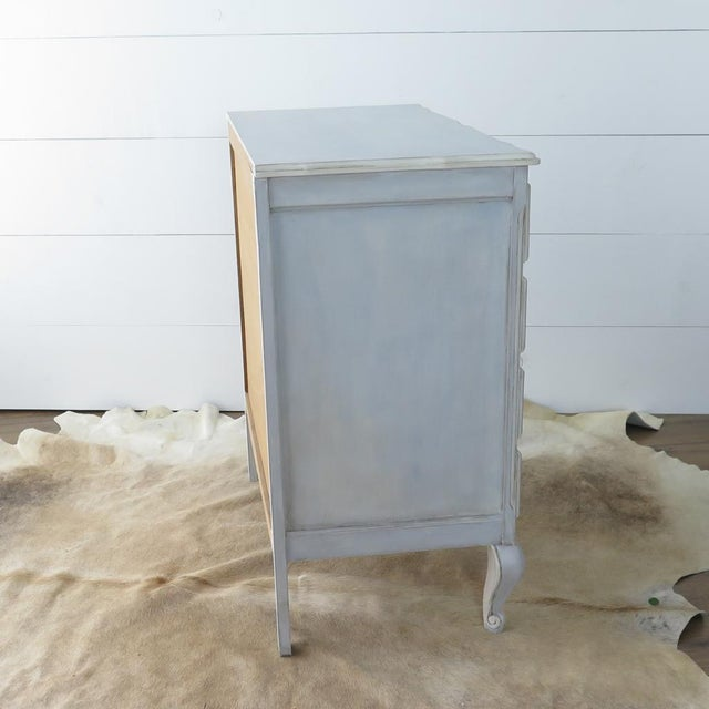 French Blue Commode - Image 10 of 11