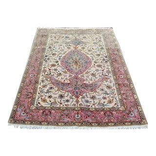 """Persian Handmade Tabriz Rug - 6'8"""" x 9'11"""""""