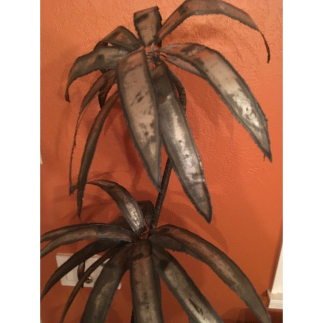 Mid-Century Brutalist Potted Palm Tree - Image 7 of 10