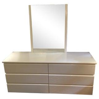 Italian Ivory Lacquer Dresser