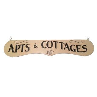 Apts & Cottages Sign
