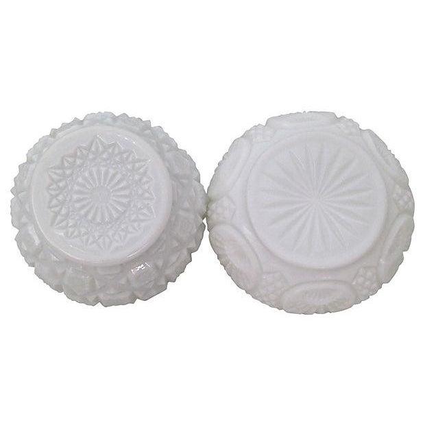 Milk Glass Bowls & Vases- Set of 6 - Image 3 of 6