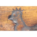 Image of Hand-Carved Early 19th Century Folky Wood Rooster Mold