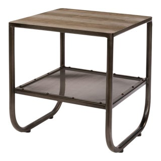 Sarreid LTD Rustic Modern Side Table
