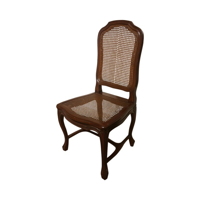 French Cane Back and Seat Side Chair - Image 1 of 6