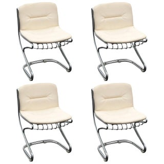Mid-Century Modern Italian Dining Chairs - Set of 4