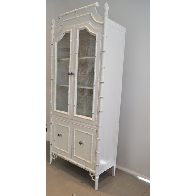 Image of Thomasville Bamboo Style Armoire