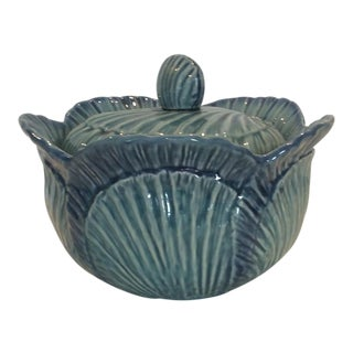 Vintage Olfaire Cabbage Lidded Tureen