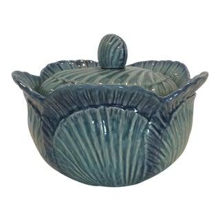 Vintage Olfaire Cabbage Lidded Tureen