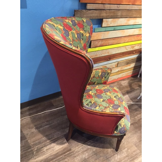 1930 Mahogany Club Chair - Image 3 of 4