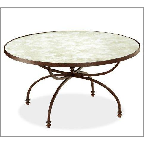 Pottery Barn Willow Antiqued Coffee Table - Image 5 of 8