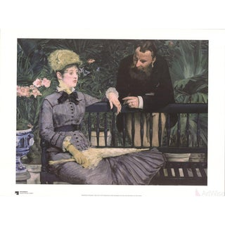 "Edouard Manet ""In Winter Garden"" Poster"