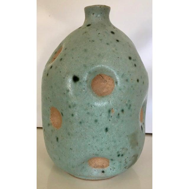 Mid-Century Studio Pottery Vase - Image 3 of 5