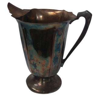 Old English Silver-Plate Pitcher