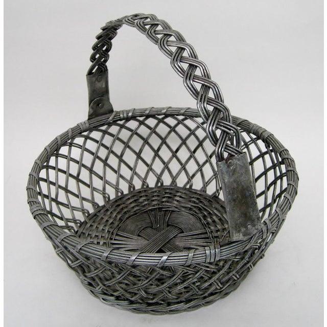 Vintage Tin Basket - Image 6 of 8