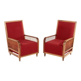 Paolo Buffa Club Chairs - A Pair