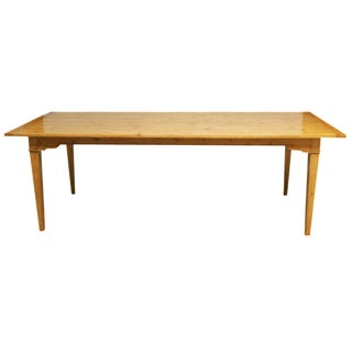 Italian Pine Farm Dining Table