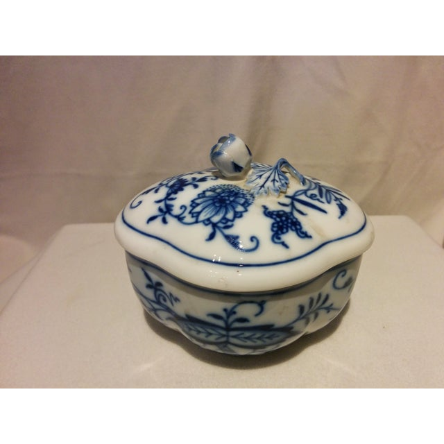 Meissen Blue Onion Cream & Sugar Set - Image 10 of 10