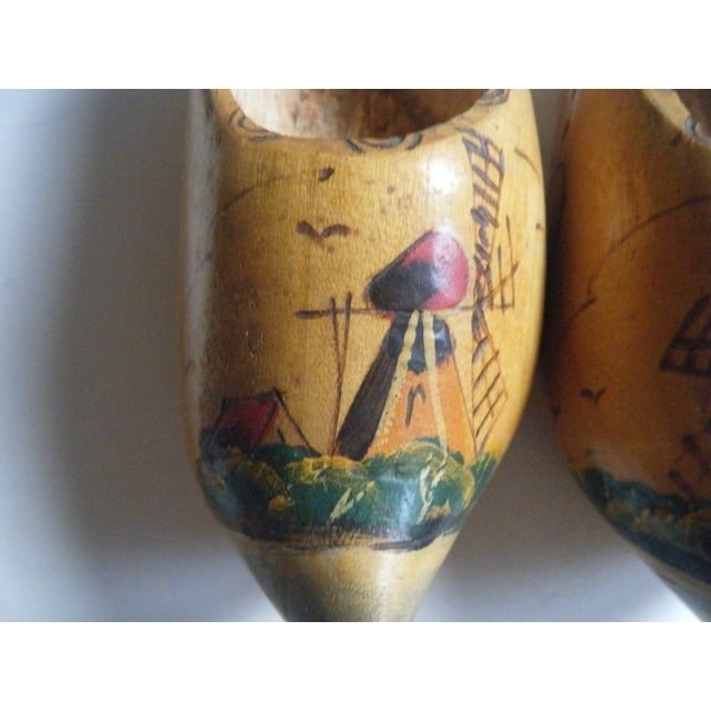 Miniature Wooden Shoes From Holland - a Pair - Image 4 of 4