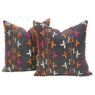 Tazmeen Phulkari Pillow, Pair